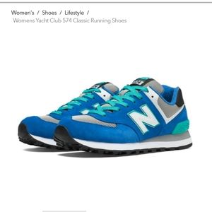 New Balance 574 yacht club classic running shoe